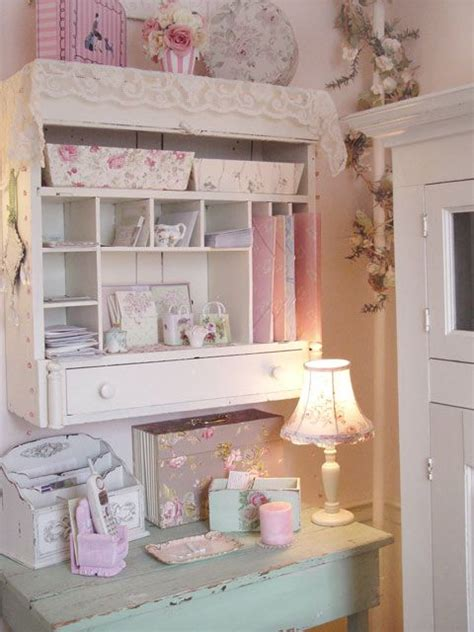 shabby chic work one day my office is going to look like this shabby chic desk shelves for office study i