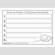Instructions Writing Frames And Printable Page Borders Ks1 & Ks2 Sparklebox