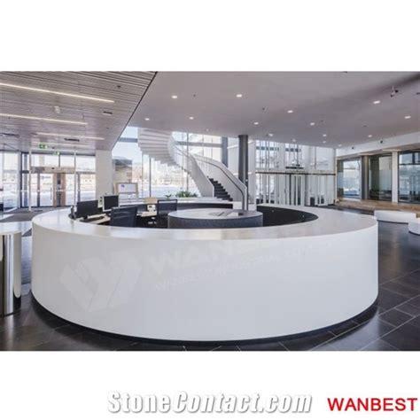 circular reception desk lobby custom made hotel lobby hospital reception desk