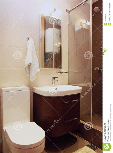 small brown bathroom royalty  stock images image
