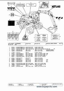 Atlas  Terex  Excavators Spare Parts Catalog