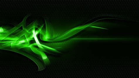 Black And Lime Green Wallpaper