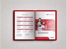Bank Mayora 2016 Calendar & Agenda Design Prototype on