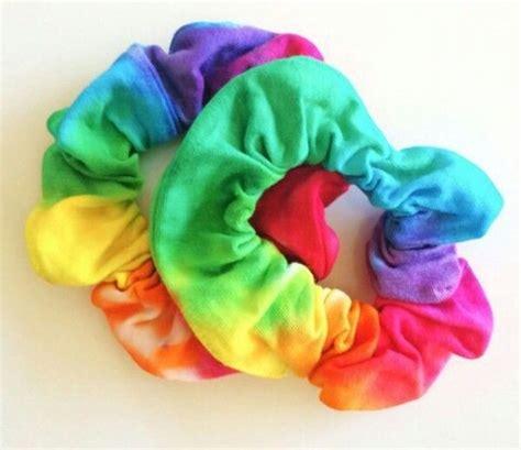Tie Dye Hair Scrunchies Tie Dye Everything Tie Dye