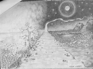 Pencil Art Landscape - VUDESK