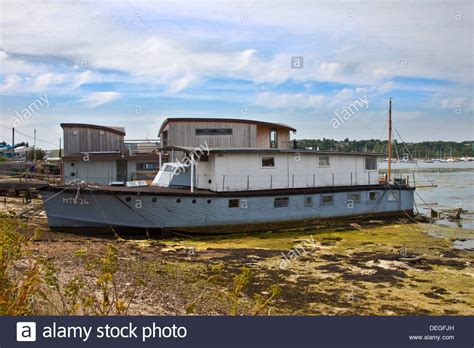 Houseboat England by Houseboat Bembridge Harbour Isle Of Wight Hshire