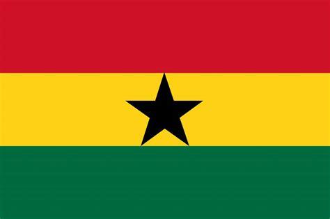 ghana flag vector country flags