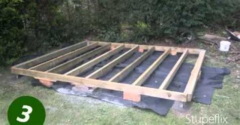 level  shed basefoundation part  home renovations pinterest foundation gardens