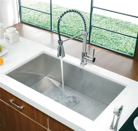 undermount kitchen sinks uk vigo undermount rectangular stainless steel 6597