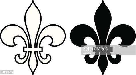 Fleur De Lys Stock Illustrations And Cartoons | Getty Images