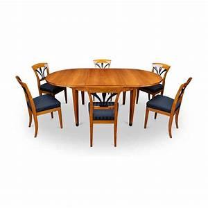 Bequeme Stühle Für Esstisch : esstisch oval kirschbaum st hlen bei ~ Bigdaddyawards.com Haus und Dekorationen