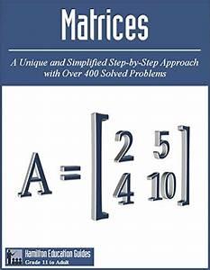 Matrices  Hamilton Education Guides Manual 8