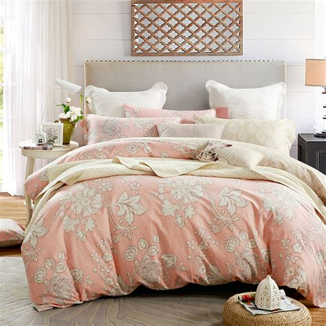 all cotton bedding set duvet cover sets 4pcs twin full