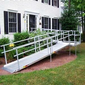 Aluminum wheelchair ramps in long island ny patriot for Aluminum wheel chair ramps