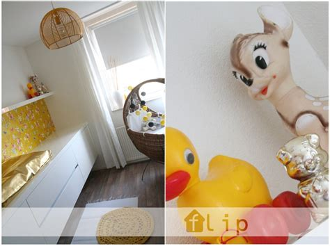 nursery ocher yellow gold retro accessories