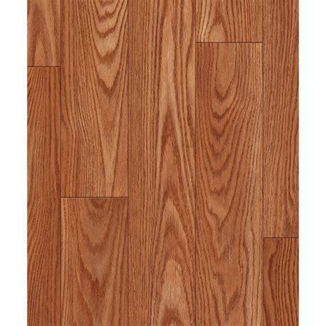 Shop allen   roth Russet Oak Wood Planks Laminate Flooring