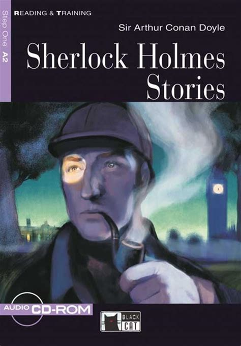 sherlock holmes stories cat reading a2 detective ahead training step
