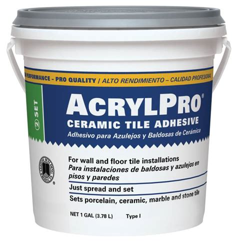 Mastic Tile Adhesive Time by Custom Building Products Arl40001 2 Adhesive Mastic Tile
