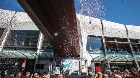 wollongong central shopping centre opens its doors photos