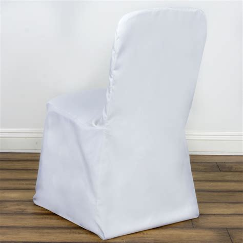 polyester square back chivari chair covers wedding