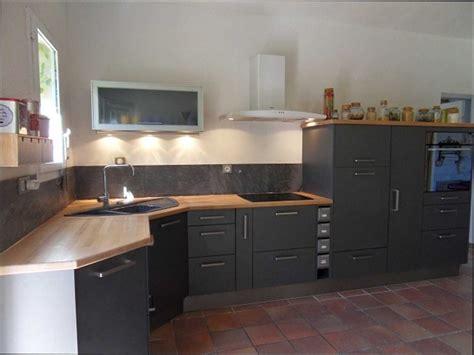 cuisine bois gris anthracite id 233 e d 233 coration