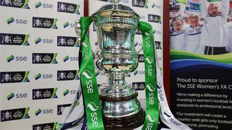 Women's FA Cup quarter final draw