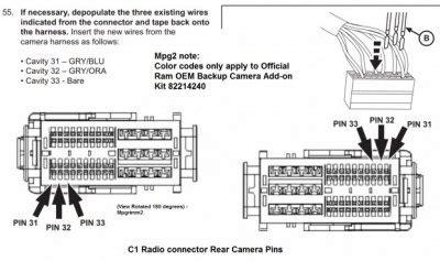 2014 Dodge Ram 1500 Back Up Wiring Diagram by Installing Oem Backup Page 3 Dodge Ram Forum