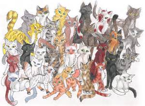 clan of cats warriors series fans thunderclan