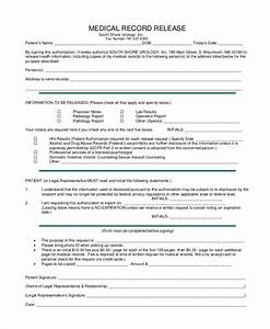 Doc Sample Medical Records Request Form – Medical