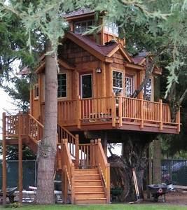 belles maisons en bois dans les arbres With plans de maison en l 12 deco les plus belles suspensions pour la maison
