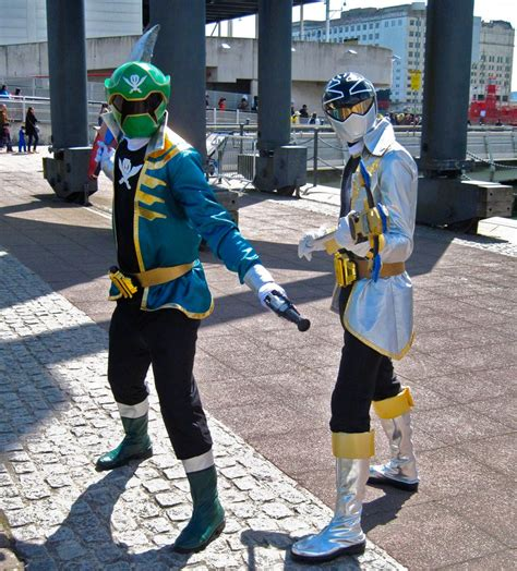 megaforce green and silver rangers by zeroking2015 on deviantart
