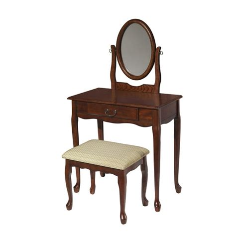 vanity table and chair shelby