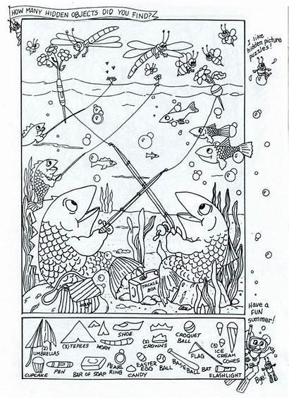 Puzzles Hidden Printable Logic