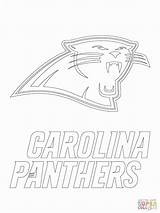 Panthers Panther Coloring Carolina Pages Football Printable Drawing Nfl Jordan Broncos Denver Falcons Atlanta Sheets Florida Sport Supercoloring Stencil Adult sketch template
