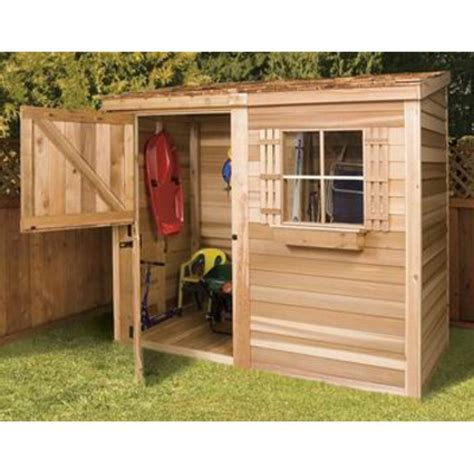 4x8 Wood Storage Shed by Shed Plans Vipwood Tool Sheds Shed Plans Vip