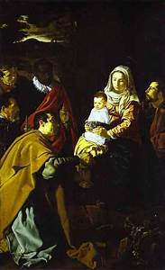 The Adoration of the Magi - Diego Velazquez Painting
