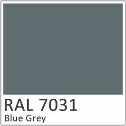 Ral 7031 Gt Polyester Pigment Blue Grey