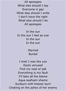 Nirvana Come as You Are Lyrics | Kurt Cobain | Pinterest ...