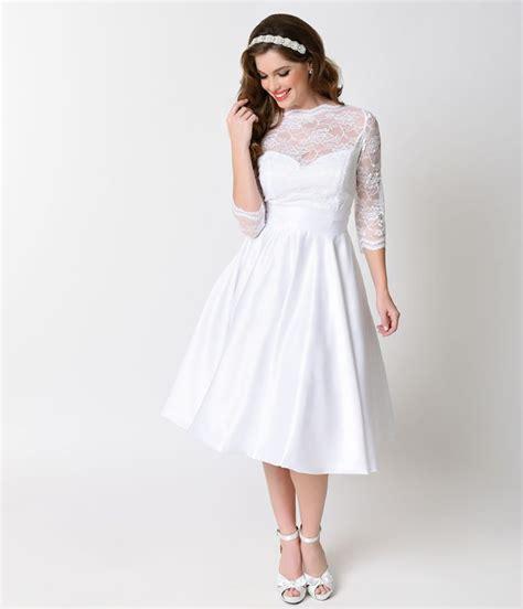Top  S Vintage Inspired  Ee  Wedding Ee   Dresses Under