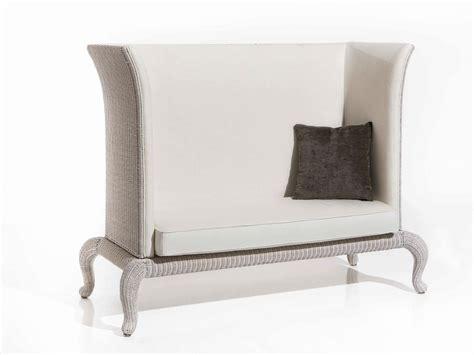 dossier de canapé canapé de jardin rembourré en tissu avec dossier haut