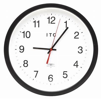 Clock Round Jam Dinding Gambar Transparent Analog