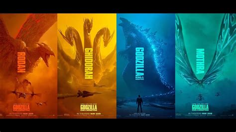 Godzilla King Of The Monsters New Movie Posters