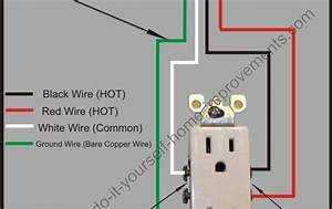 Here Is An Easy To Follow Split Plug Wiring Diagram  Wiring A Receptacle Is Another Basic Wiring