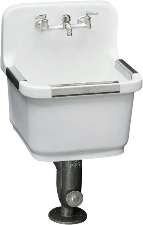 Kohler Utility Sink Faucet by View The Kohler K 6650 Sudbury Service Sink With Two