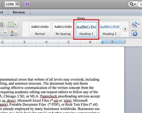microsoft word of contents microsoft of contents word 2011 mac