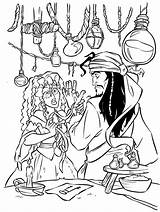 Pirates Caribbean Coloring Pages sketch template