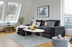 Tapis shaggy blanc pas cher ukbix for Tapis shaggy avec canapé scandinave design