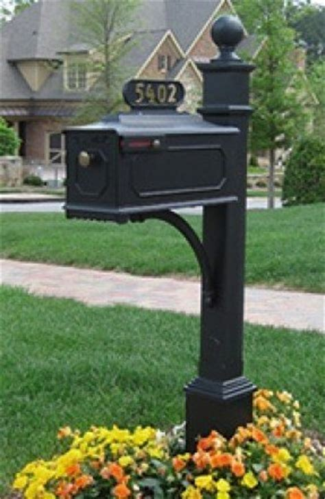 wrought iron mailbox post cast aluminum mailbox post foter 1666