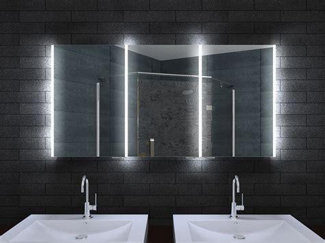 Alu Badschrank Badezimmer Spiegelschrank