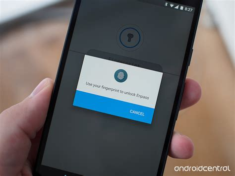 android fingerprint enpass password manager adds preliminary marshmallow